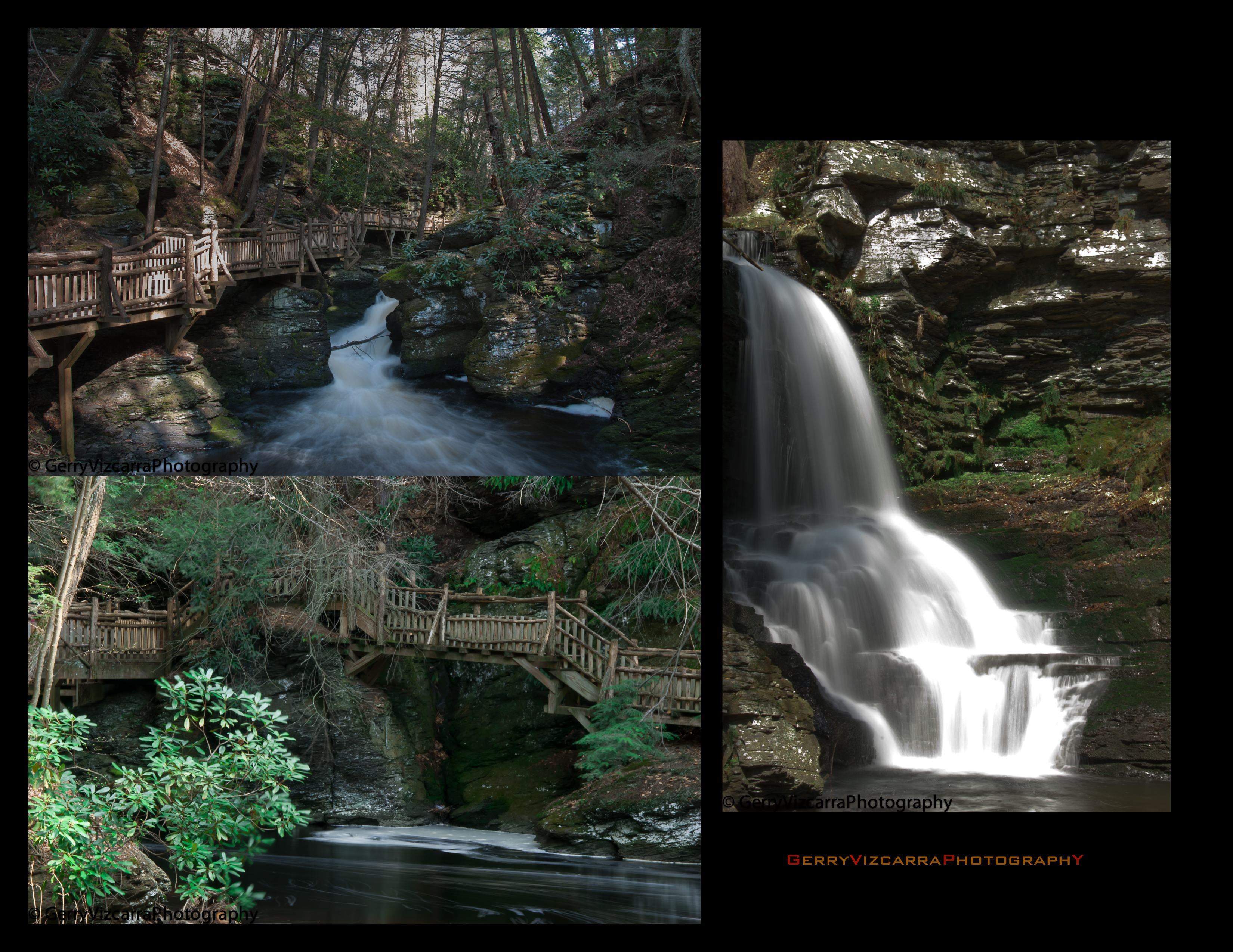 Bushkill Falls PA