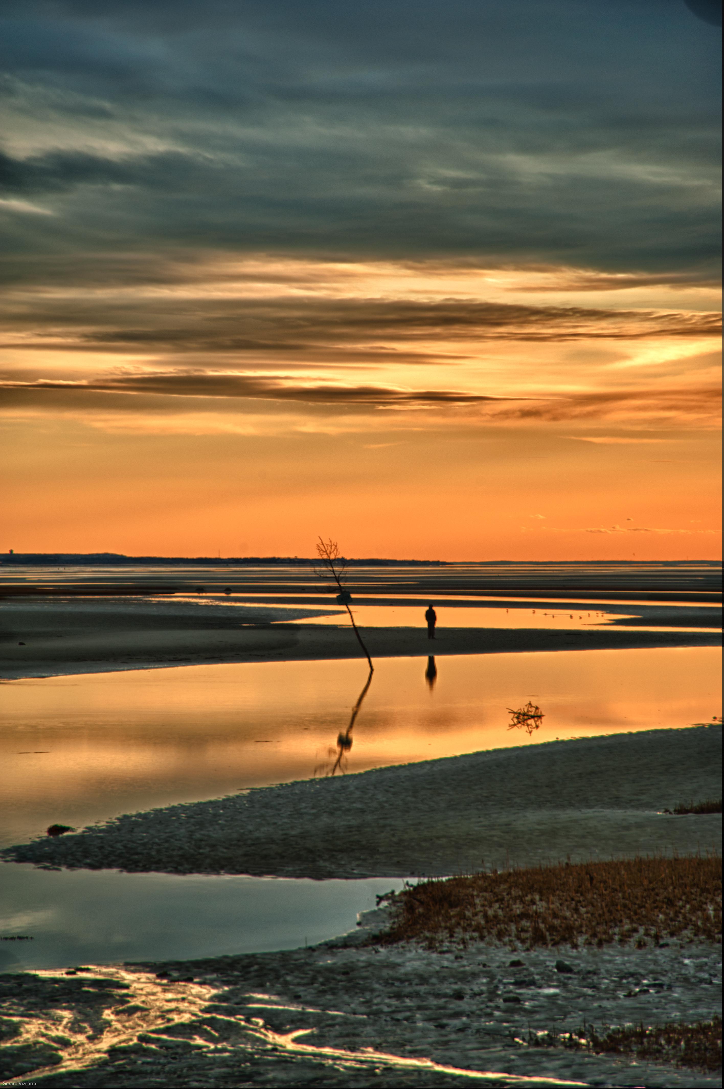 Rock Harbor Reflection