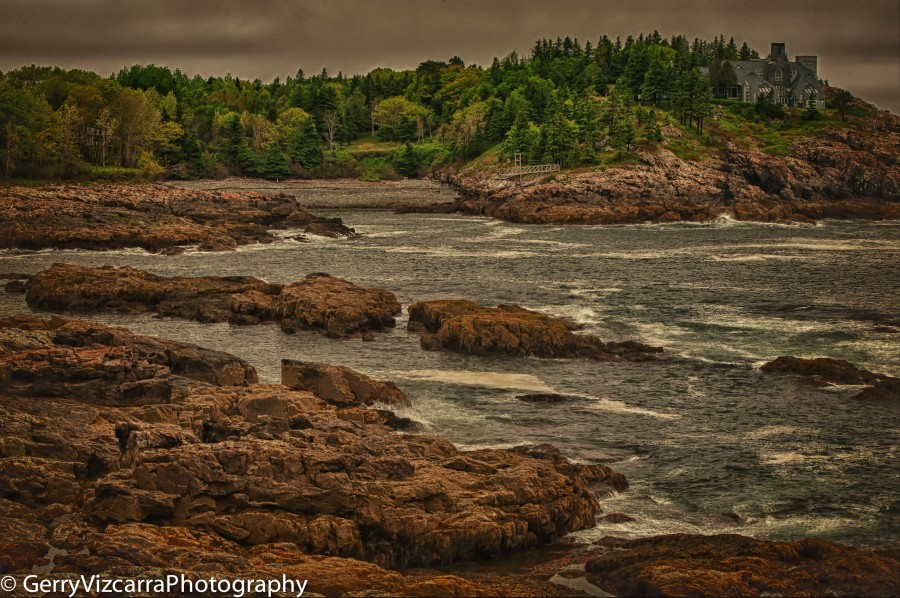 Acadia National Park, Frenchman Bay Overlook, Mount Desert Island, Maine