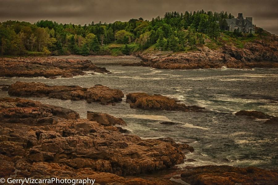 Acadia National Park, Frenchman Bay Overlook, Mount Desert Island, Maine