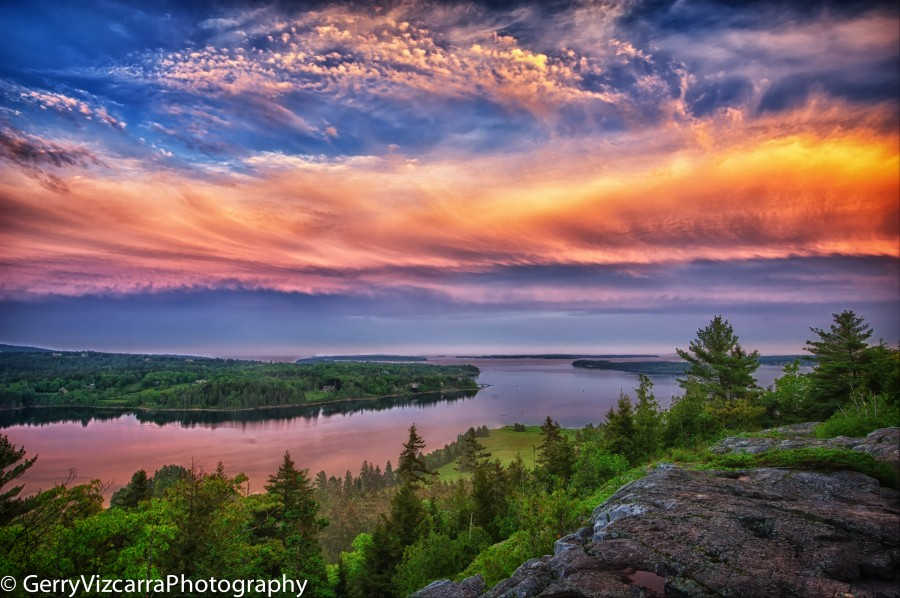 Flying Mountain Peak, Southwest Harbor, Mount Desert Island, Maine